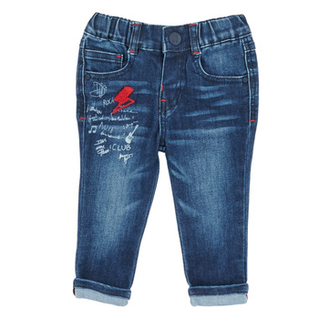 Clothing Boy Slim jeans Ikks XR29001 Blue
