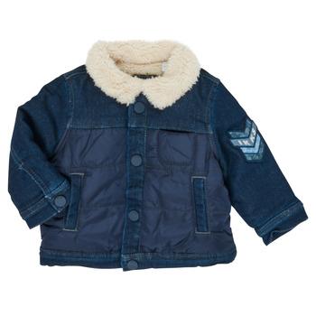 Clothing Boy Jackets Ikks XR40031 Blue