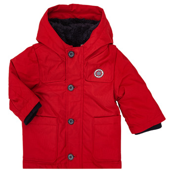 Clothing Boy Parkas Ikks XR42001 Red