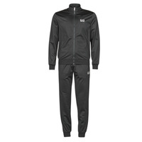 Clothing Men Tracksuits Emporio Armani EA7 TRAIN CORE ID M T-SUIT TT FZ CH PL Black