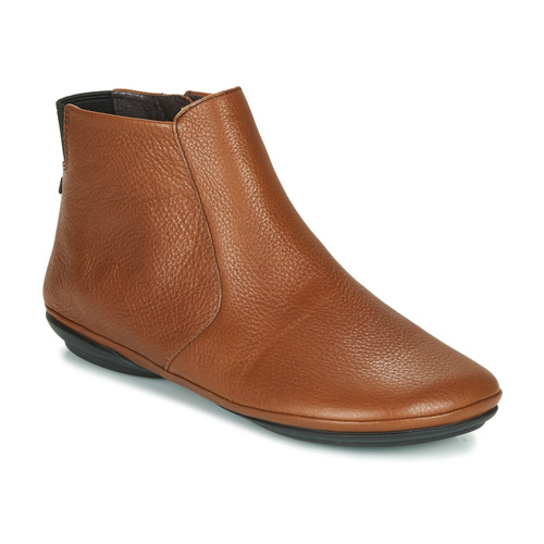 Shoes Women Mid boots Camper RIGHT NINA Brown
