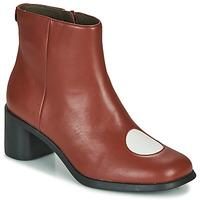 Shoes Women Ankle boots Camper TWINS Bordeaux