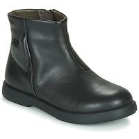 Shoes Girl Mid boots Camper DTT1 Black