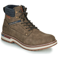 Shoes Men Mid boots Dockers by Gerli 47AF001 Kaki