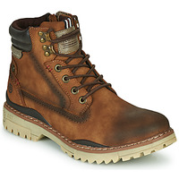 Shoes Men Mid boots Dockers by Gerli 47LY001 Brown