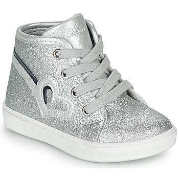 Shoes Girl Hi top trainers Chicco FLAMINIA Grey