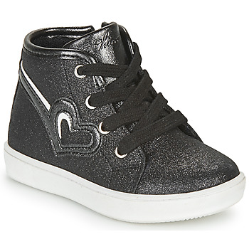 Shoes Girl Hi top trainers Chicco FLAMINIA Black