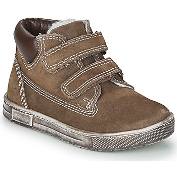 Shoes Boy Hi top trainers Chicco CLAY Brown