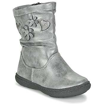 Shoes Girl High boots Chicco COLETTA Grey
