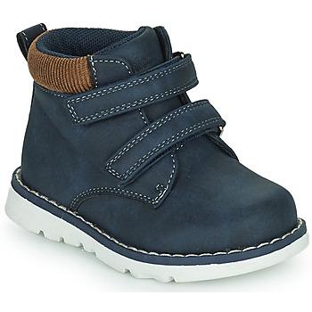 Shoes Boy Hi top trainers Chicco FLOK Blue