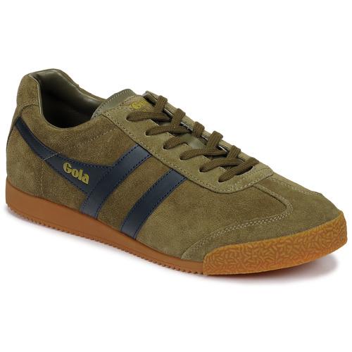 Shoes Men Low top trainers Gola HARRIER Kaki / Marine