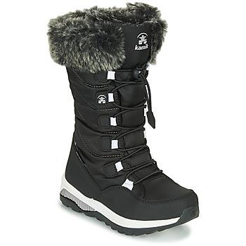 Shoes Girl Snow boots KAMIK PRAIRIE Black