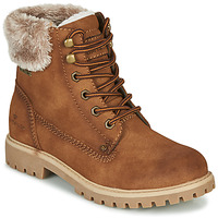 Shoes Women Mid boots Tom Tailor 90103-MARRON Brown