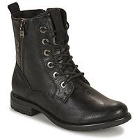 Shoes Women Mid boots Tom Tailor 93303-NOIR Black
