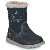 Shoes Girl High boots Tom Tailor 72307-BLEU Blue