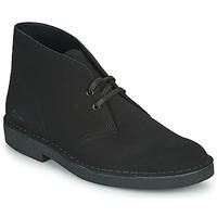 Shoes Men Mid boots Clarks DESERT BOOT 2 Black