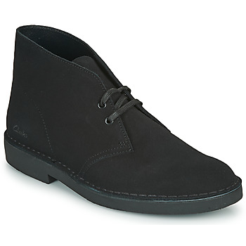 Shoes Men Mid boots Clarks DESERT BOOT 2 Black