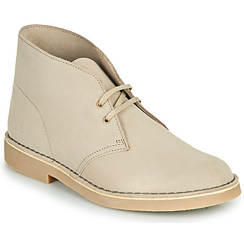 Shoes Men Mid boots Clarks DESERT BOOT 2 Sable