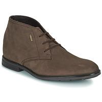 Shoes Men Mid boots Clarks RONNIE LOGTX Brown