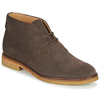 Shoes Men Mid boots Clarks CLARKDALE DBT Brown