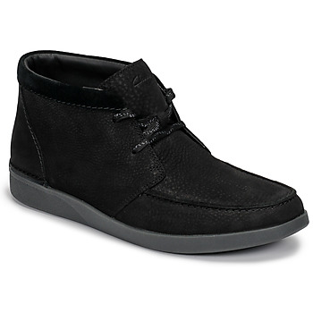 Shoes Men Mid boots Clarks OAKLAND TOP Black