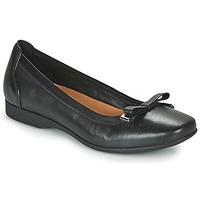 Shoes Women Flat shoes Clarks UN DARCEY BOW Black