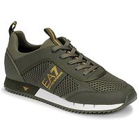 Shoes Men Low top trainers Emporio Armani EA7  Kaki