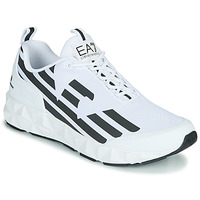 Shoes Men Low top trainers Emporio Armani EA7 XCC52 White / Black