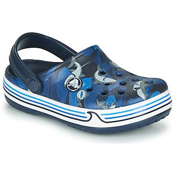 Shoes Boy Clogs Crocs CROCBAND SHARK CLOG PS Marine