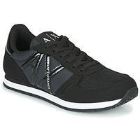 Shoes Women Low top trainers Armani Exchange  Black