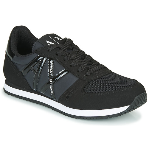 Shoes Women Low top trainers Armani Exchange XCC62-XDX031 Black