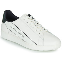 Shoes Men Low top trainers Armani Exchange XV262-XUX082 White