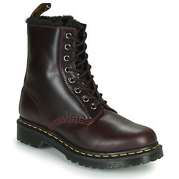 Shoes Women Mid boots Dr Martens 1460 SERENA Bordeaux