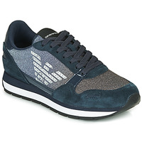 Shoes Women Low top trainers Emporio Armani  Marine