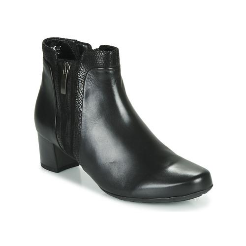 Shoes Women Ankle boots Gabor 5282857 Black