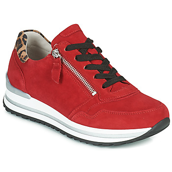 Shoes Women Low top trainers Gabor 5652838 Red