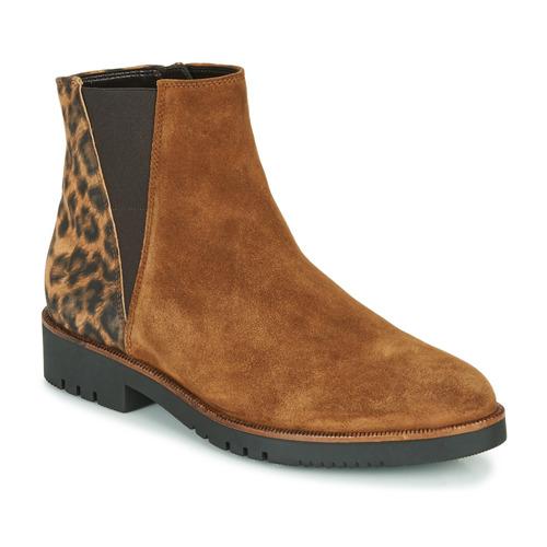 Shoes Women Ankle boots Gabor 5658143 Cognac