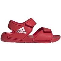 Shoes Children Sandals adidas Originals Altaswim C Red