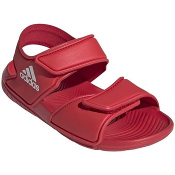 Shoes Children Sandals adidas Originals Altaswim C Red