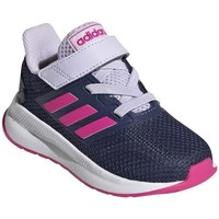 Shoes Girl Running shoes adidas Originals Runfalcon I White,Navy blue