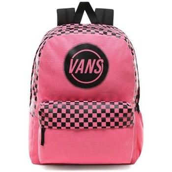 Bags Women Rucksacks Vans Taper Off Realm Black, Pink