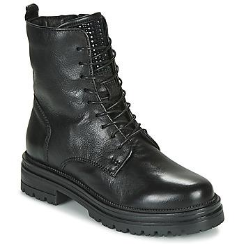 Shoes Women Mid boots Mjus DOBLE LACE Black