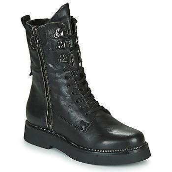 Shoes Women Mid boots Mjus TRIPLE ZIP Black