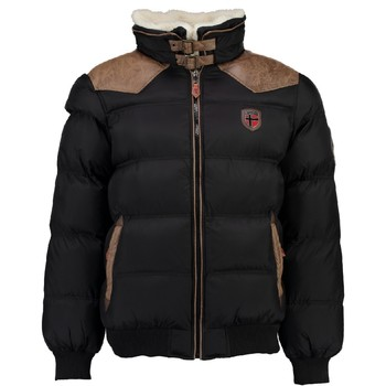 Clothing Boy Duffel coats Geographical Norway ABRAMOVITCH BOY Black