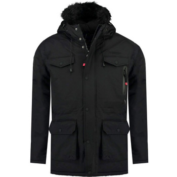 Clothing Boy Parkas Geographical Norway ALCALINE BOY Black