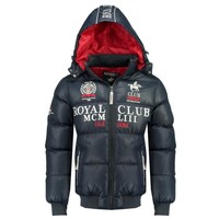 Clothing Boy Duffel coats Geographical Norway AVALANCHE BOY Marine