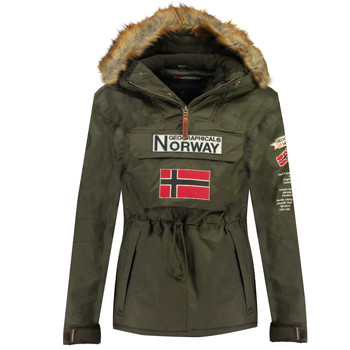 Clothing Boy Parkas Geographical Norway BARMAN BOY Kaki