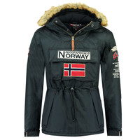 Clothing Boy Parkas Geographical Norway BARMAN BOY Marine