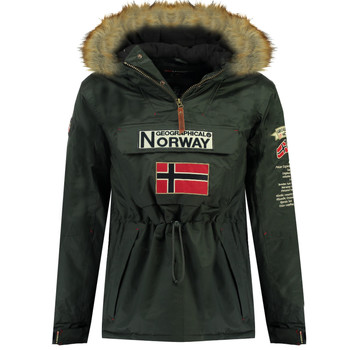 Clothing Boy Parkas Geographical Norway BARMAN BOY Grey