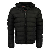 Clothing Boy Duffel coats Geographical Norway BOMBE BOY Black